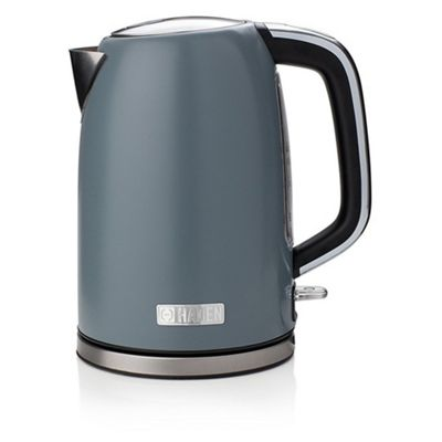 Haden-183422 Sleek Kettle with 1.7L Capacity and Water Level Gauge in Slate Grey