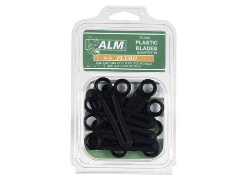 ALM Fl240 Plastic Blades Large Hole