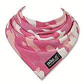 Skibz Bandana Dribble Bib - Pink Camouflage