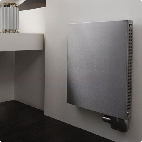 Aeon Sovran Stainless Steel Smooth Panel Horizontal Radiator 600mm High x 700mm Wide