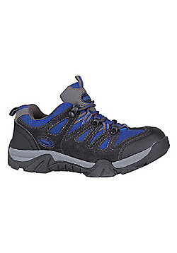 Mountain Warehouse Cannonball Kids Walking Shoes - Blue
