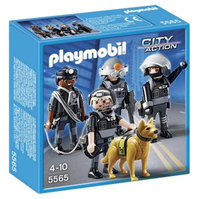 Playmobil 5565 City Action Tactical Unit Team