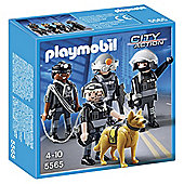 Playmobil 5565 City Action Tactical Unit Team