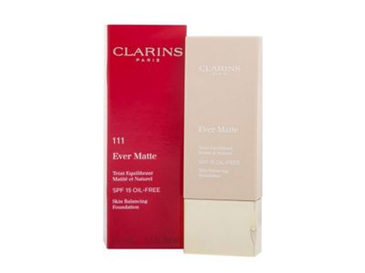 Clarins Ever Matte Skin Balancing Foundation 30ml SPF15 Toffee