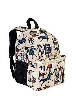 Children's Backpack & Lunch Bag - Horse Dream