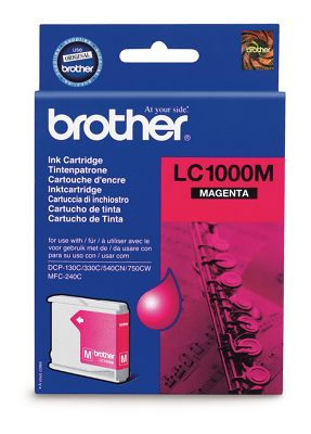 Brother LC1000M Ink Cartridge - Magenta