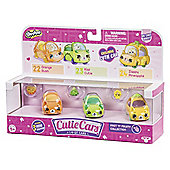 Shopkins Cutie Cars 3 Pack - Juicy Fruits