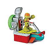 Teenage Mutant Ninja Turtles Half-Shell Heroes Sewer Cruiser with Diver Mikey