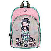 Santoro Gorjuss Seven Sisters Pink Backpack 26x41x9cm