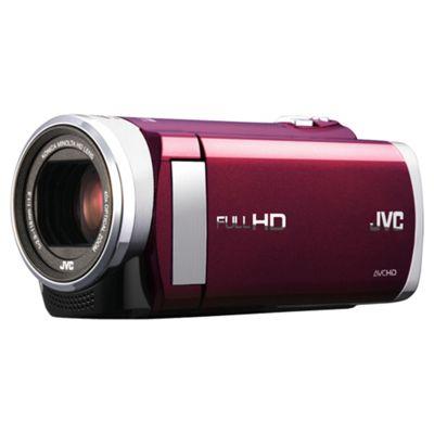 JVC GZ-E205 REK High Def Camcorder Red