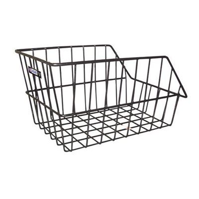 Adie Large Wire Rear Basket in Black