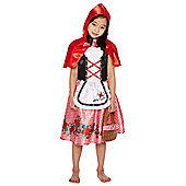 F&F Little Red Riding Hood Dress-Up Costume - Red & Multi