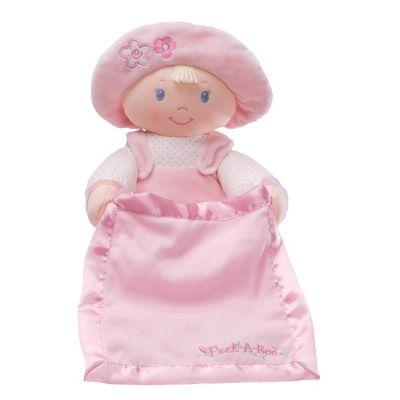 Gund Peek a Boo Dolly Stuffed Toy Pink