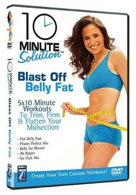 10 Minute Solution: Blast Off Belly Fat (Fitness DVD)