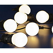 10 Outdoor Warm White LED Party Lights