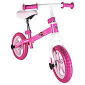 Paw Patrol Pink balance bike
