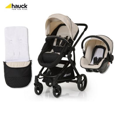 Hauck Colt Travel System, Caviar/Almond