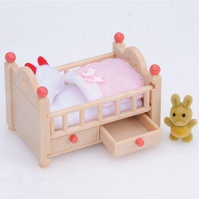 Baby Crib - Sylvanian Families Figures Dolls Furniture 4462