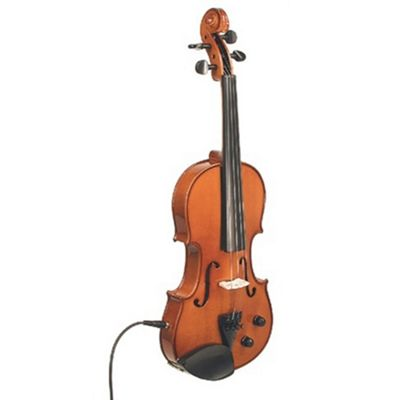 Stentor 1515 Harlequin Electric Violin Outfit - Natural