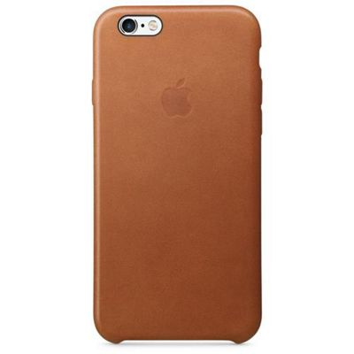 Apple iPhone 6s Leather Case - Saddle Brown Phone for 6