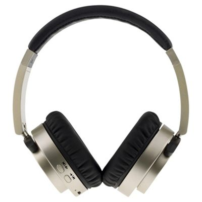 Groov-e GVBT400GD Fusion Wireless Bluetooth or Wired Stereo Headphones - Gold