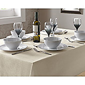 Select Round Tablecloth 90cm - Ivory