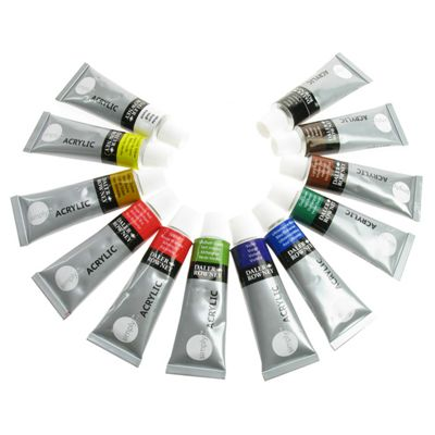 Daler Simply Acrylic Set 12 x 12ml Tubes