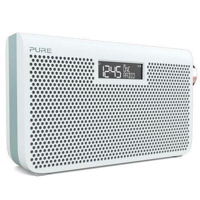 Pure One Maxi Series 3s Portable Stereo DAB Radio - Jade White