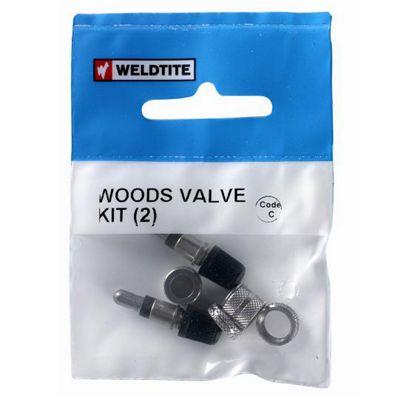 Bike Bits Woods Valve Kit (2)