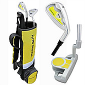 Young Gun Sgs Junior Birdie Right Hand Golf Set + Bag Age 3-5 - Yellow