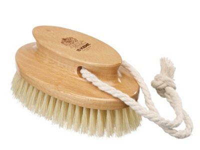 Kent Luxury Bath Brush with Pure White Bristles - FD10