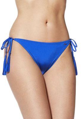 F&F Side Tie Bikini Briefs Cobalt Blue 10