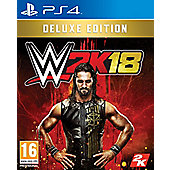 WWE 2K18 Deluxe Edition PS4