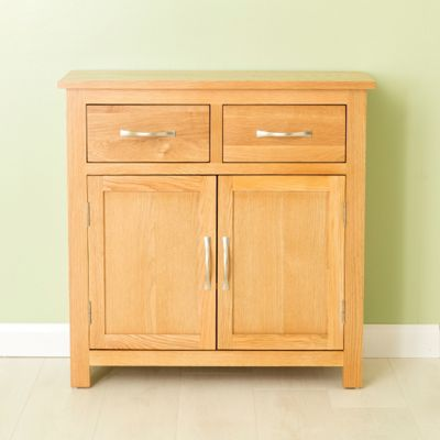 Carne Oak Sideboard - Mini Sideboard - Light Oak