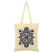 Spiroscopic Dream Cream Tote Bag
