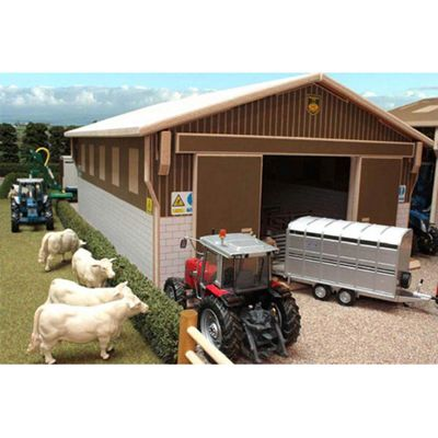 Brushwood Bt7000 Lambing Shed - 1:32 Farm Toys