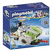 Playmobil 6691 Super 4 Technopolis Chameleon Jet