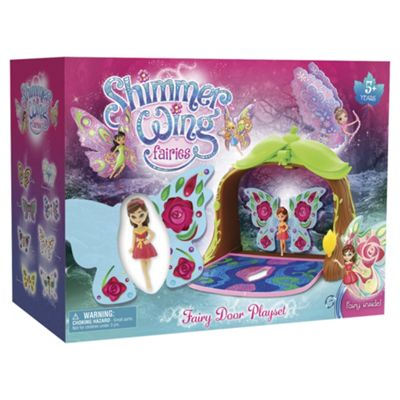 Shimmer Wing Fairies Fairy Door Playset