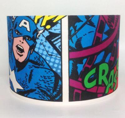 Marvel Avengers Large Fabric Light Shade - Captain America