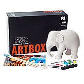 Elephant Parade ArtBox Model Painting Kit with 15cm High Blank Elephant to paint