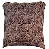 Gunmetal Ocean Shell Cushion