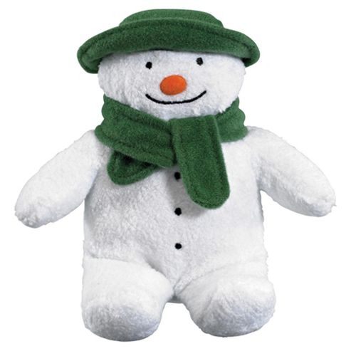 The Snowman Bean Soft Toy