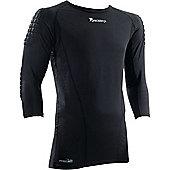 Precision Gk Padded Base-Layer Shirt - Black