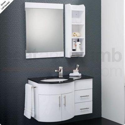 Hudson Reed Ellipse Bathroom Furniture Pack
