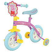 "Peppa Pig 2in1 10"" Kids Training Bike"