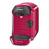 Bosch-TAS1251GB Vivy II Tassimo Hot Drinks Machine with 0.7L Capacity in Pink