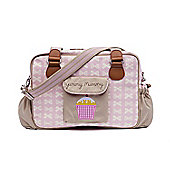 Pink Lining Yummy Mummy Changing Bag (Cream Bows on Pink)