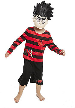 The Beano Dennis the Menace Dress-Up Costume - Black & Red