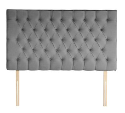 Silentnight Florence Single Headboard Slate Grey
