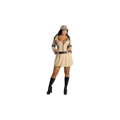 Buy Rubies Fancy Dress Ghostbuster Womens Costume Uk Plus Size 14